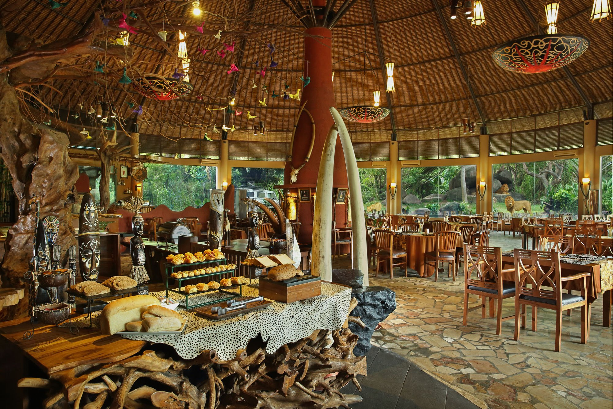 Restaurants information bali safari park