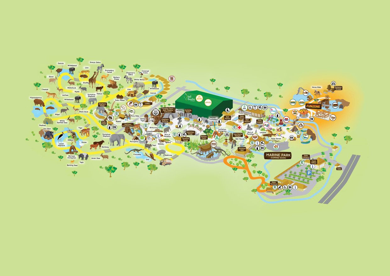 Park map information bali safari park download map gumiabroncs Images