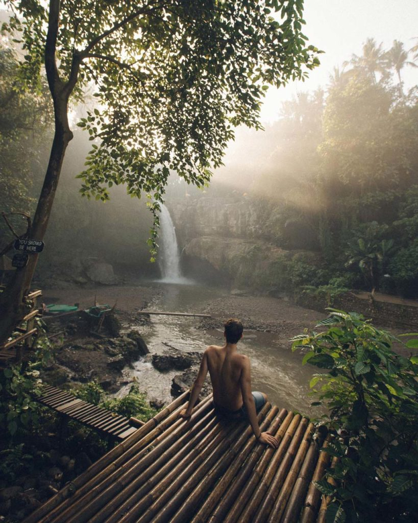 tegenungan waterfall bali nature