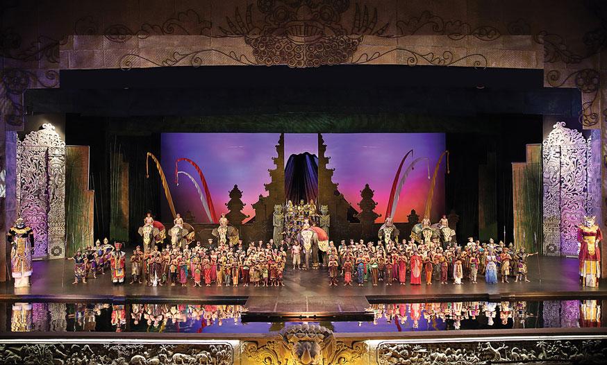 Bali Agung Show in Bali Safari Park